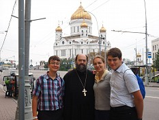 The Temidis Family in Moscow