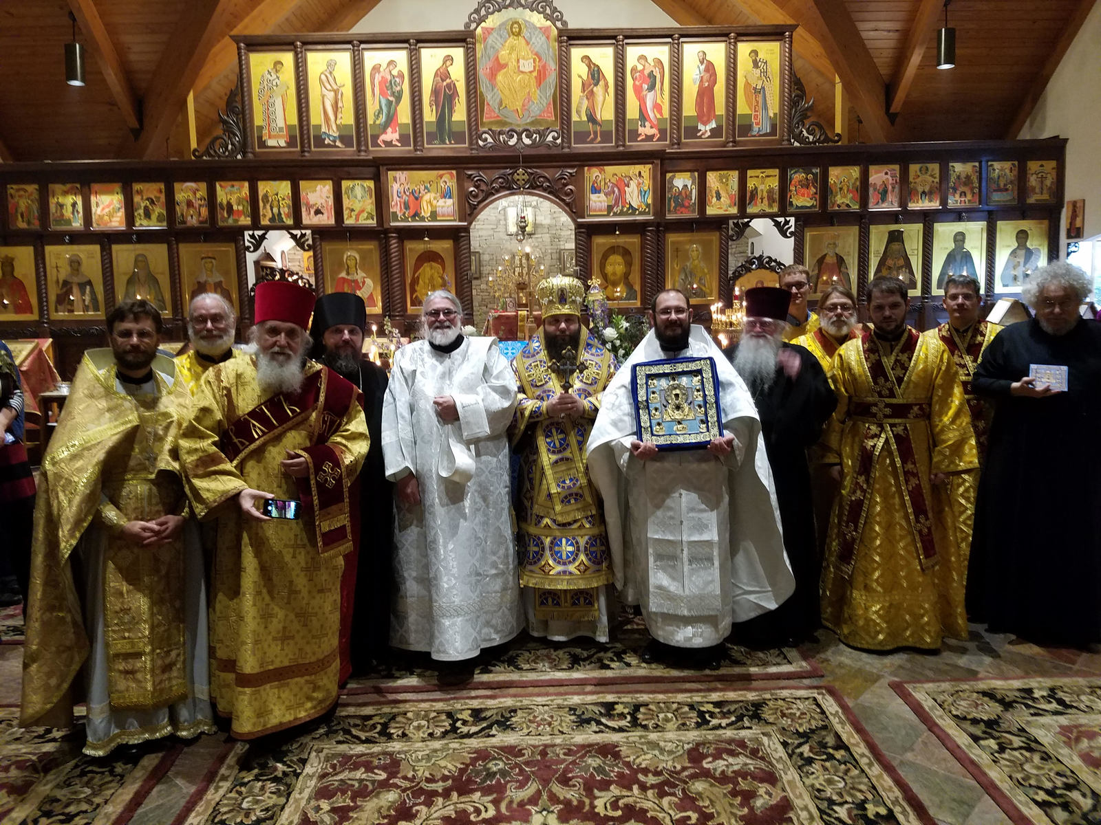 Eastern american diocese of the russian orthodox church abroad on friday the 27th through sunday the 29th of october the parish of st mary of egypt church in roswell atlanta ga was blessed with a visit by the kristyandbryce Image collections
